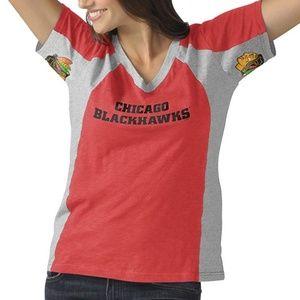 NHL Chicago Blackhawks Sideline T-Shirt, Small